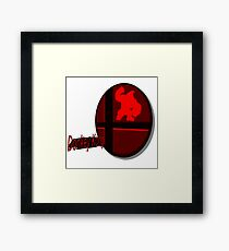 Smash Bros. Donkey Kong Tag Framed Print