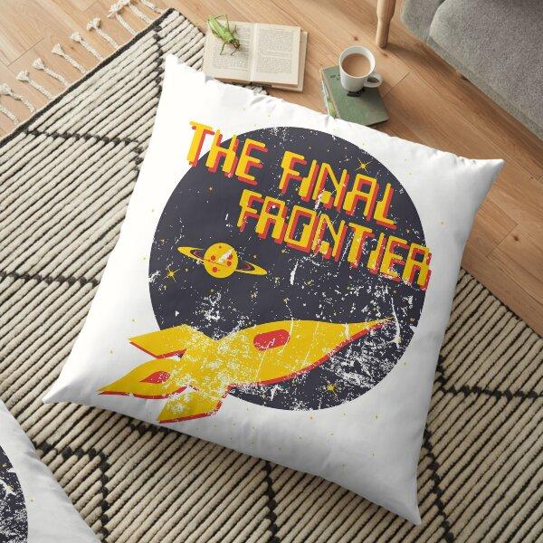 The Final Frontier Floor Pillow