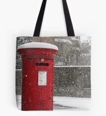 Postbox In The Snow Tote Bag