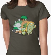 Terra Turtles! Women's Fitted T-Shirt
