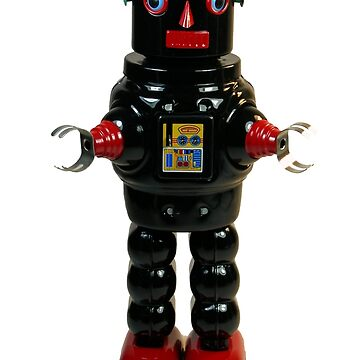 Mechanical Robby Toy by bassdmk