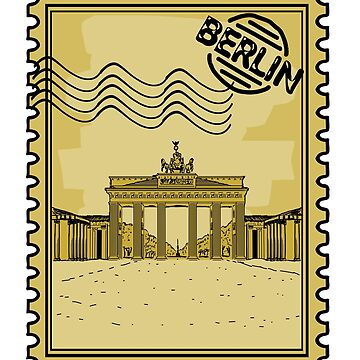 Berlin Stamp by pda1986