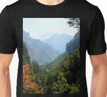 a desolate Nepal landscape Unisex T-Shirt