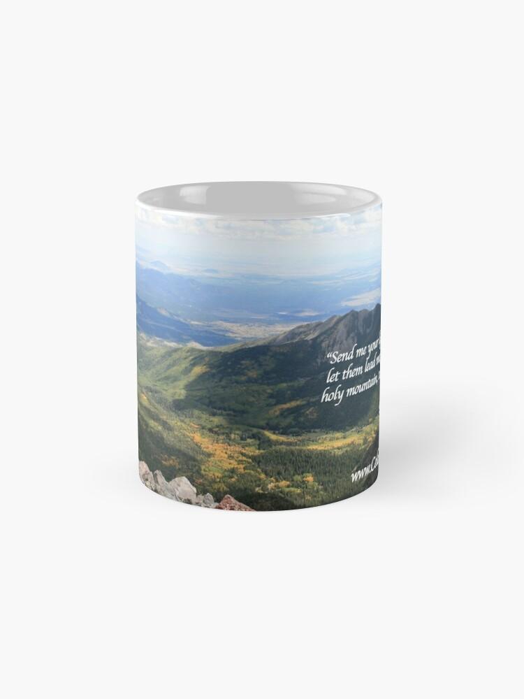 Alternate view of Celebrating Christ Summit Story Mug with Psalm - From ccnow.info Mug