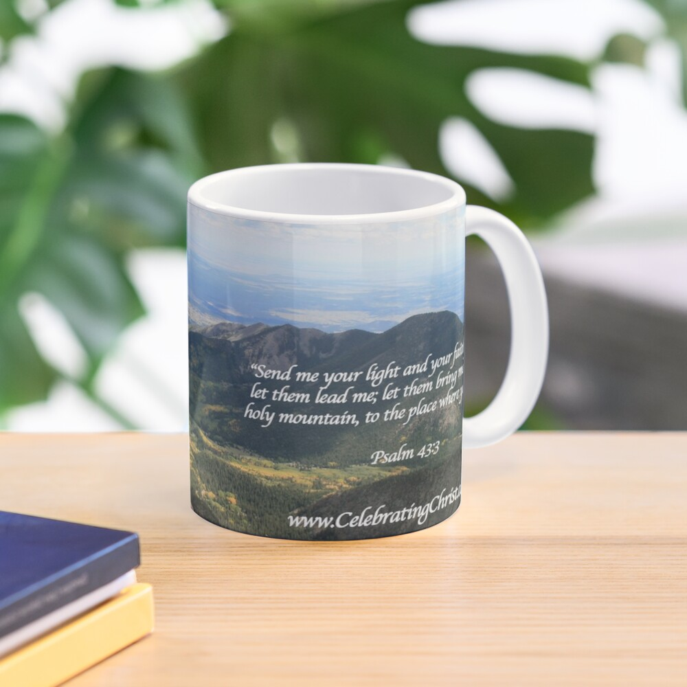 Celebrating Christ Summit Story Mug with Psalm - From ccnow.info Mug