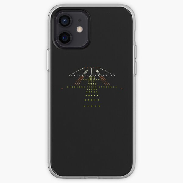 Cadeau d'avion pilote d'aviation de piste Coque souple iPhone