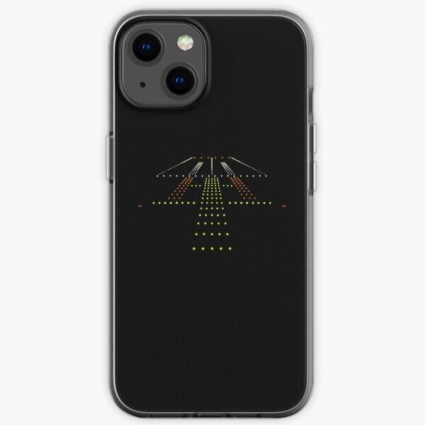 Pilot runway aviation airplane gift iPhone Soft Case