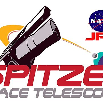 Spitzer Space Telescope Program Logo by Spacestuffplus