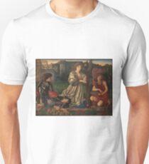 The Love Song, Sir Edward Burne-Jones, 1868-77, Pre-Raphaelite Brotherhood, PRB Unisex T-Shirt