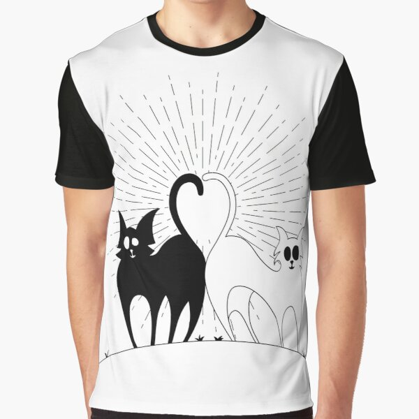 heart of cats Graphic T-Shirt