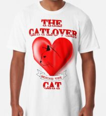 The Catlover behind the Cat Long T-Shirt
