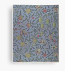 Fruit or Pomegranate1865–66, Willam Morris, Pre-Raphaelite Brotherhood, Morris & Co. Canvas Print