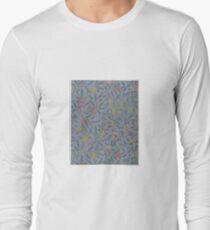 Fruit or Pomegranate1865–66, Willam Morris, Pre-Raphaelite Brotherhood, Morris & Co. Long Sleeve T-Shirt