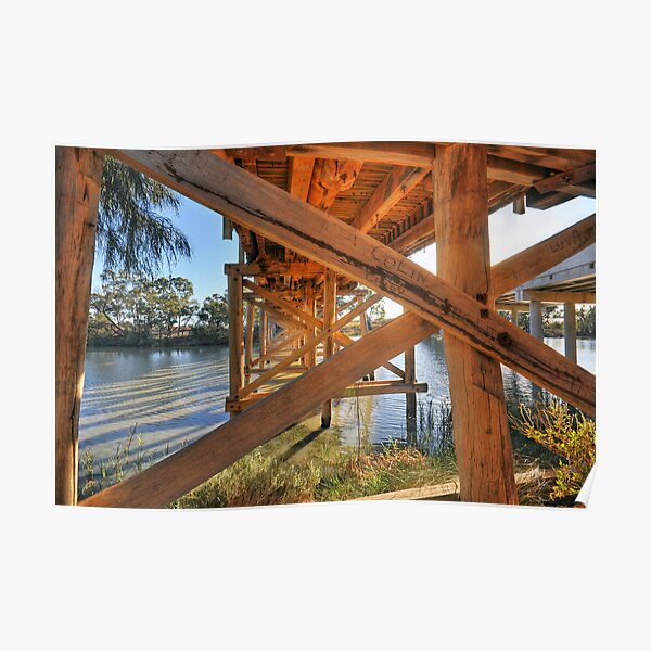 Bridge over the Darling Anabranch Poster