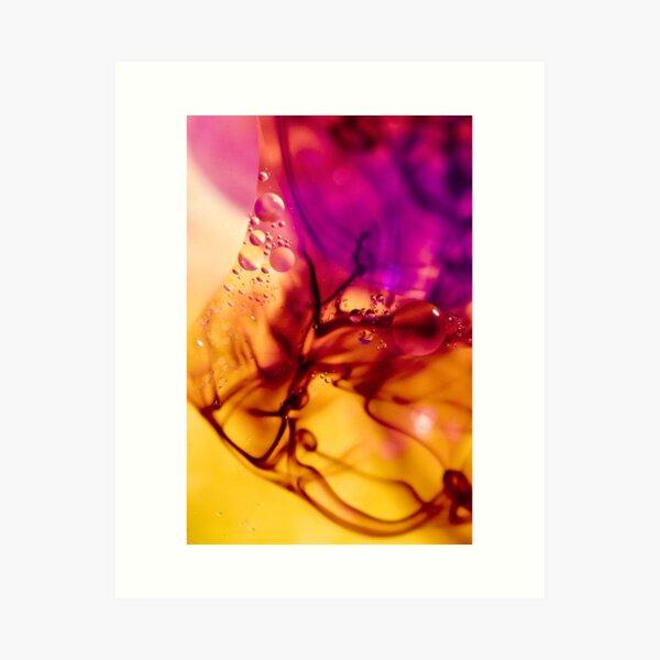 Ink Abstract Art Print