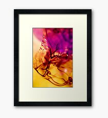 Ink Abstract Framed Print