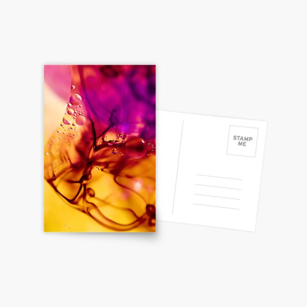 Ink Abstract Postcard