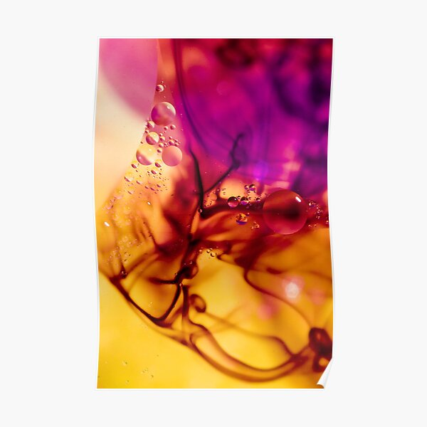 Ink Abstract Poster