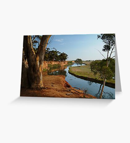 Werribee River Greeting Card
