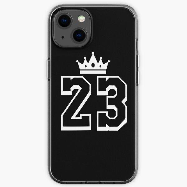 LeBron King 23 Blanc Coque souple iPhone