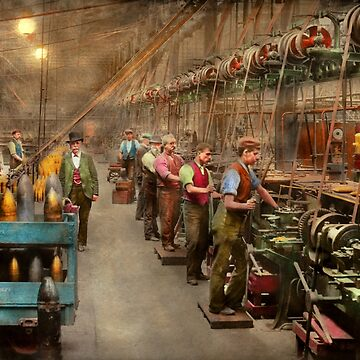 Machinist - War - The shell dept 1900 by mikesavad