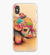 Vintage Tie Dye Elefanten iPhone-Hülle & Cover