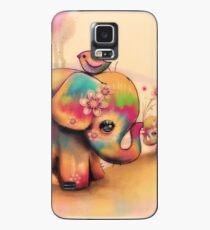 Vintage Tie Dye Elefanten Hülle & Klebefolie für Samsung Galaxy