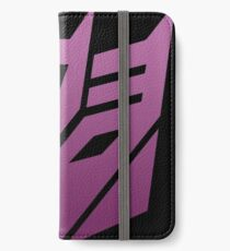 Decepticon iPhone Wallet/Case/Skin