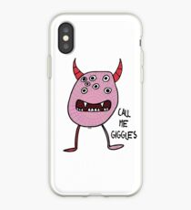 Call Me Giggles iPhone Case