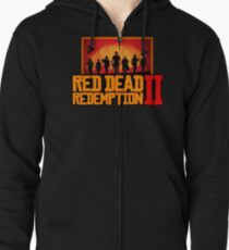 Red Dead Redemption 2 - Unisex Zipped Hoodie