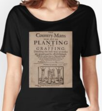 The country-mans new art of planting and graffing (1651) Women's Relaxed Fit T-Shirt