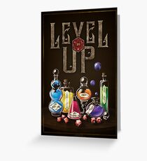 Level Up Greeting Card