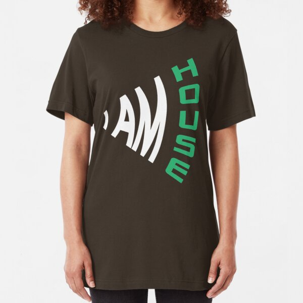 I Am House Slim Fit T-Shirt