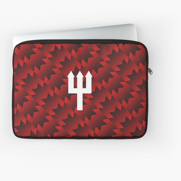 United Retro Trident - Red/Black/White Laptop Sleeve