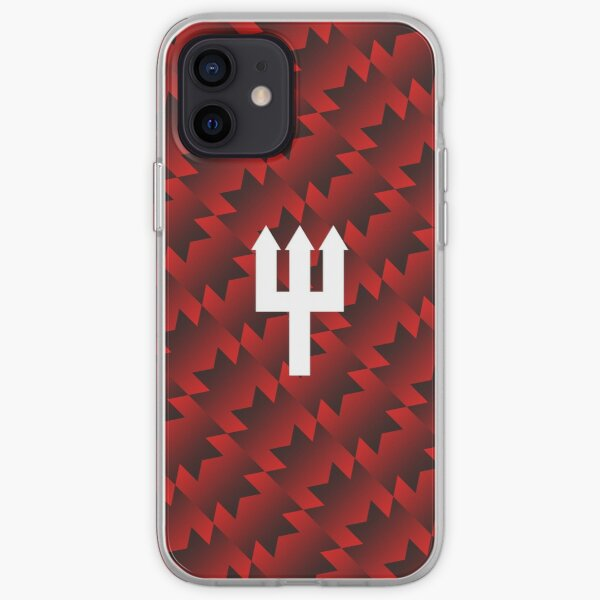 United Retro Trident - Red/Black/White iPhone Soft Case