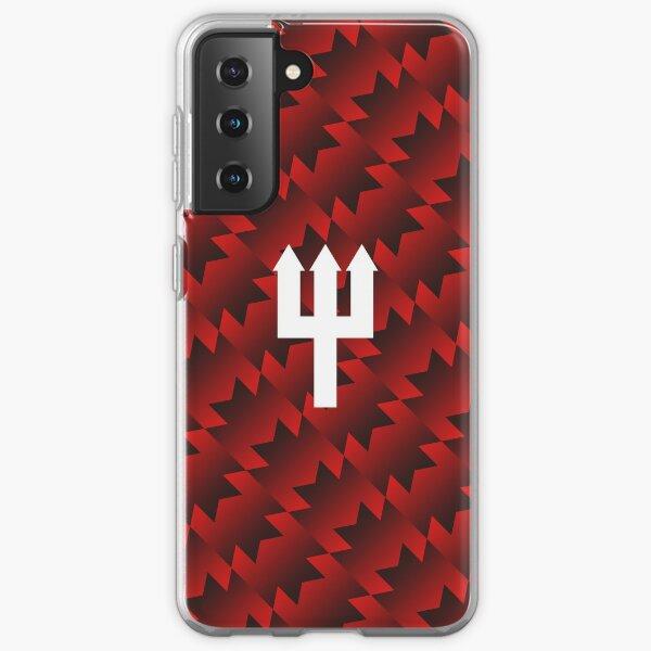 United Retro Trident - Red/Black/White Samsung Galaxy Soft Case