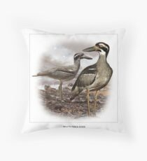 BEACH THICK-KNEE #1 Throw Pillow