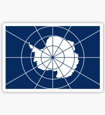 Flag of the Antarctic Treaty  Sticker