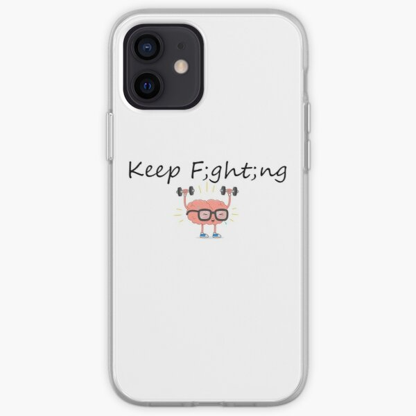 Keep F;ght;ng iPhone Soft Case
