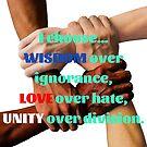 Wisdom, Love & Unity by Kamira Gayle