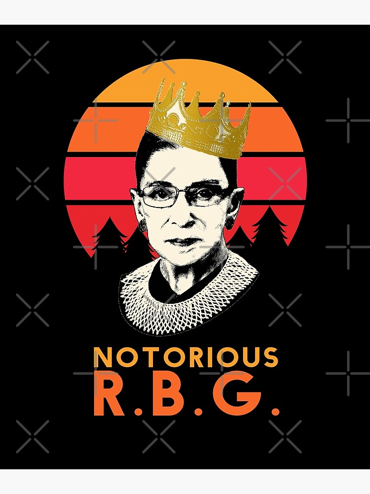 Funny Notorious RBG T-shirt, RGB notorious merch - rbg Apparel and Stickers by rachimariposa