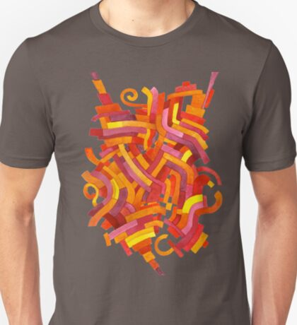 Pixelated Epiphany - Watercolor Painting T-Shirt
