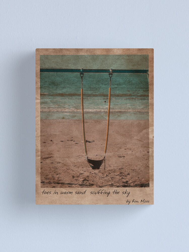 Alternate view of in the sand Canvas Print