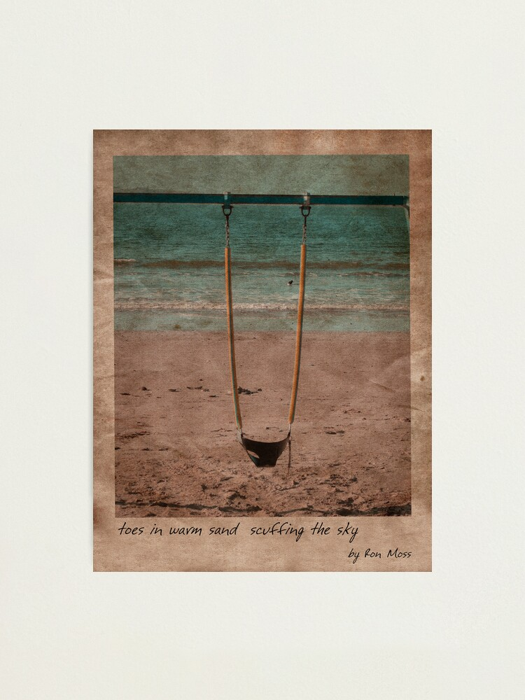 Alternate view of in the sand Photographic Print