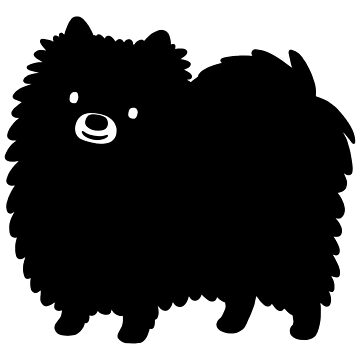 Black Pomeranian by ShortCoffee