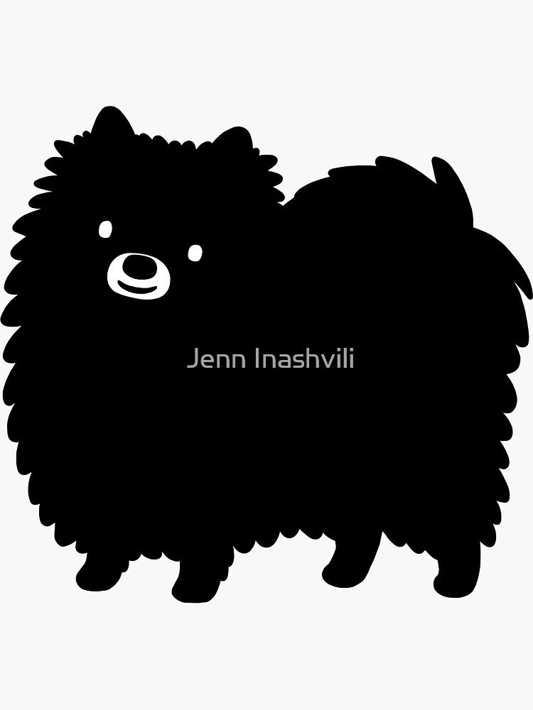 Pomerania negra de ShortCoffee