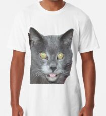 Pompon the cat Long T-Shirt