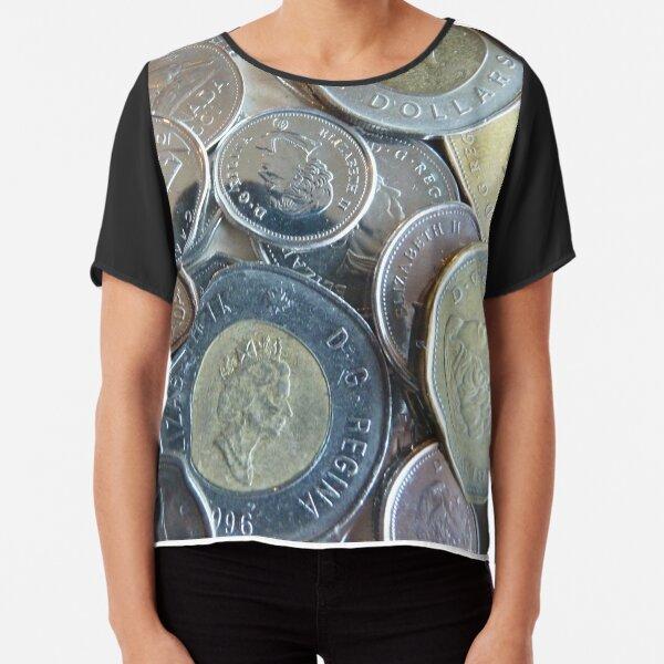 Monnaie canadienne Top mousseline