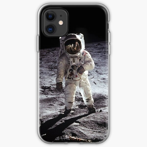 Buzz Aldrin On The Moon iPhone Soft Case