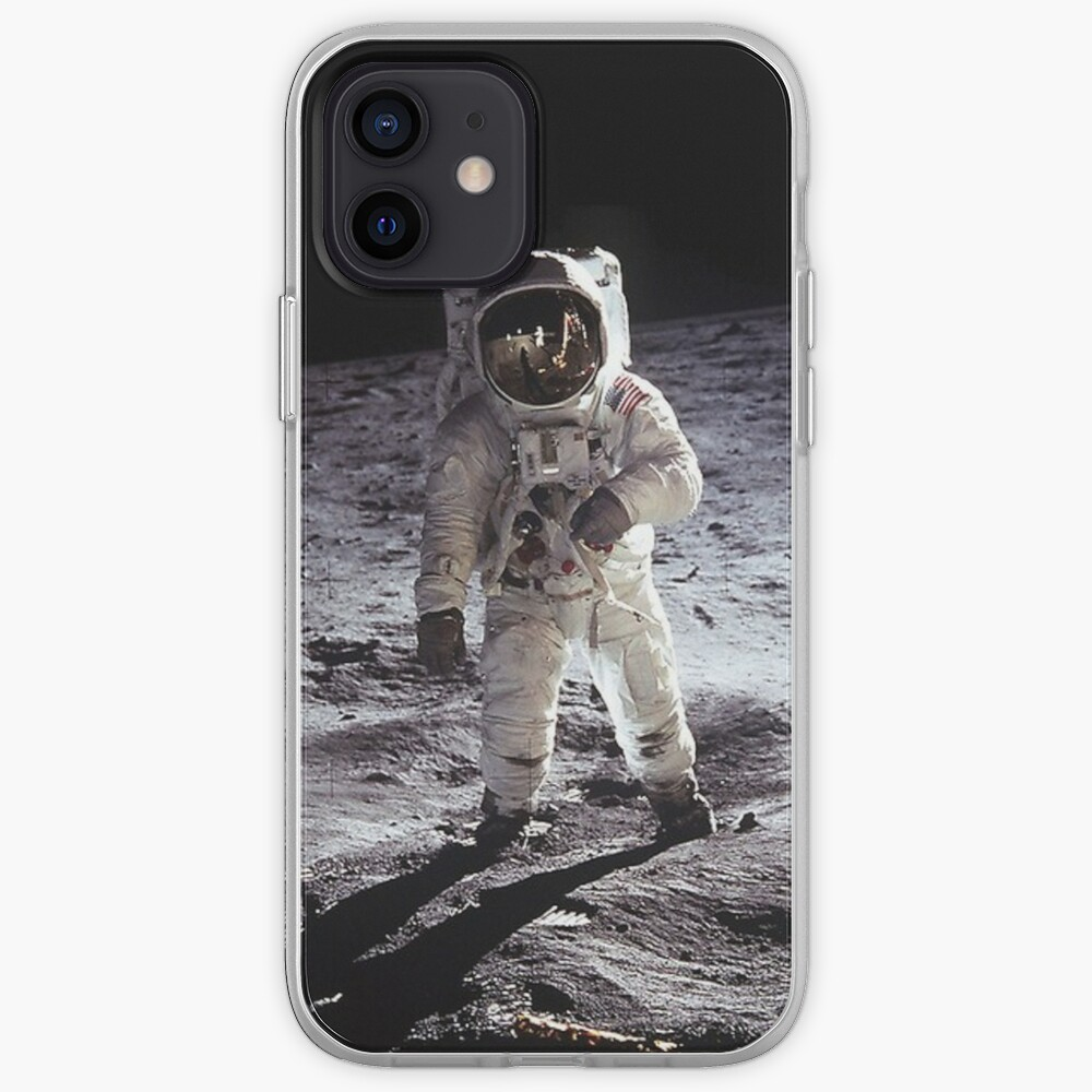 Buzz Aldrin On The Moon iPhone Case & Cover